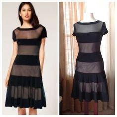 Joseph Ribkoff black striped dress Worn just once. g Joseph Ribkoff Dresses 1a17152ad