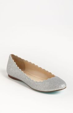 """Blue by Betsey Johnson 'Dance' Flat 