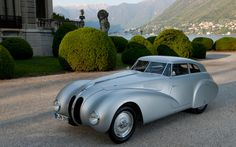 1940 BMW 328 Kamm Coupe Replica Prepares for 2010 Mille Miglia Rally