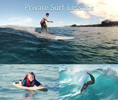 Maui Surf Lessons are a must when visiting Maui, Hawaii so we've put together information about Maui surf schools that have the best Maui surf instructors. Hawaii Surf, Hawaii Travel, Ocean Activities, Learn To Surf, Paddle Boarding, Marine Life, Natural Wonders, Oahu, Snorkeling