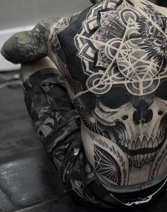 Full back piece by Otheser