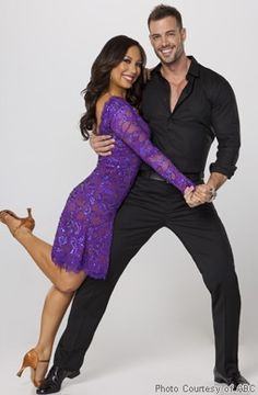 Cheryl Burke & William Levy from Dancing With The Stars