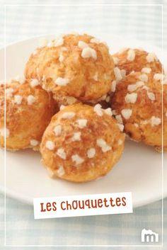 Grands classiques : les chouquettes /// #marmiton #chouquette #pâtisserie #goûter #marmiton #recette #cuisine