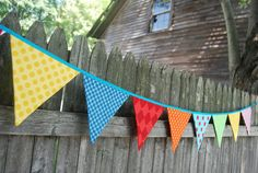 bunting pennants