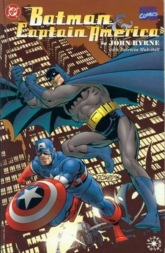 captain america comic book photos | Elseworlds Batman & Captain America by John ... | Comic Book Charac...