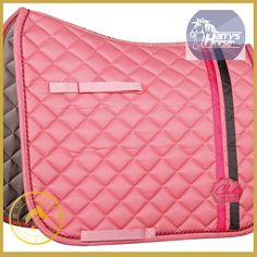 Harrys Horse Chic Dressage Saddle Pad - Kola-Beanz is the striking new limited edition saddle pad in a gorgeous rose colour which forms part of our exclusive 'colour explosion' collection.