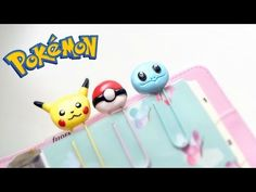 Pokémon Paper Clips | Polymer Clay Tutorial - YouTube