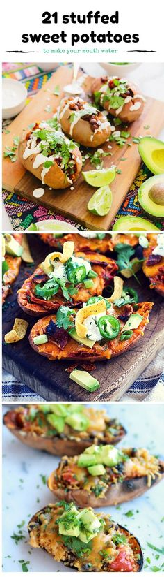 Whether you are making a Thanksgiving meal or just enjoying a sweet potato meal, dare to be different with these stuffed sweet potato recipes!