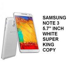 """Samsung Note3 5.7"""" inch Super King Copy White Rp 1.150.000,-   Pin BB : 7D0D1612   Sms : 087782150659"""