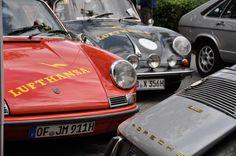 Schon seit 25 Jahren gibt es die scuderia Lufthansa, die nun schon genauso lange das Klassikertreffen in Hattersheim organisiert. Inzwischen ist es zu einem der größten in ganz Deutschland gewachsen. Über 2000 Fahrzeuge werden an diesem Wochenende erwartet. Wir waren gestern
