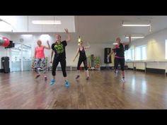 Zumba Fitness - La Botella (2nd Warm-up) - YouTube