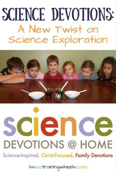 Want to do science experiments with your kids and illustrate a gospel concept at the same time? Check out Science Devotions from KidMin Science! Bible Science, Science Curriculum, Science Facts, Preschool Science, Science Experiments Kids, Science Classroom, Science Lessons, Teaching Science, Science For Kids