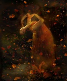"""""""Anyone who thinks fallen leaves are dead has never watched them dancing on a windy day."""" ― Shira Tamir."""