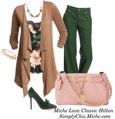 """""""Miche Luxe Classic Hilton"""" by miche-kat on Polyvore  http://www.simplychicforyou.com/"""