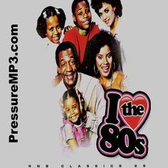 R&B Classics I LOVE THE 80's Mixtape CD Compilation