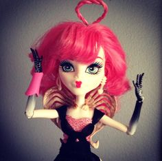 Hair did by David Colvin Monster High CA Cupid