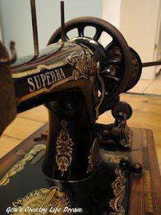Sewing machine Superba