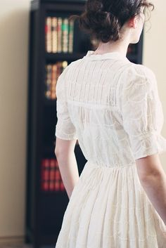 """""""She barely moved as she stepped toward the light at the window. It shone so brightly, so mysteriously, that she forgot even her beloved books. It was the beginning of an amazing journey."""""""