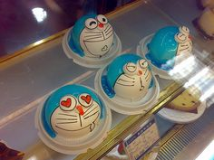 Another funny Japanese pastries and cakes, Doraemon: photo by LiuTao, via Flickr