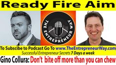 510: Ready Fire Aim with Gino Collura Founder and Owner of Grit Combatives and Ground Ready International Training  To find out more click this link =>> http://theentrepreneurway.com/podcast/510-ready-fire-aim-with-gino-collura-founder-and-owner-of-grit-combatives-and-ground-ready-international-training/  Gino Collura is the Owner of GRIT Ready Tactical Education Firm. He is also a published author and currently a Doctoral candidate in Neuroanthropology with a Concentration In Combative…