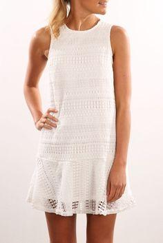 Vendetta Dress White