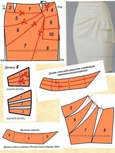 Amazing Sewing Patterns Clone Your Clothes Ideas. Enchanting Sewing Patterns Clone Your Clothes Ideas. Japanese Sewing Patterns, Skirt Patterns Sewing, Sewing Patterns Free, Sewing Tutorials, Clothing Patterns, Sewing Dress, Sewing Clothes, Pattern Draping, Pattern Cutting