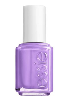 """Or Try...""""There is a another color that people don't really know about that I love for [dark skin tones] called Play Date,"""" Saunders says. """"It's basically a neon lavender, and it's perfect for pedicures, and I use it all the time for nail art, too.""""Essie Nail Polish in Play Date, $8.50."""