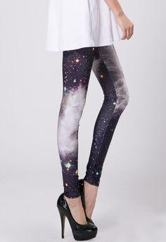 Galaxy Black Legging