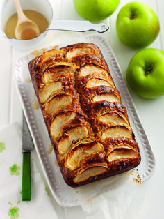 Bramley Apple, Honey & Whisky Drizzle Cake | Bramley Apples