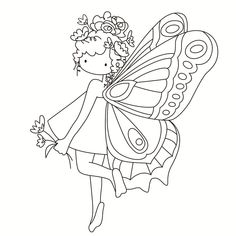 Rubber Silicone Clear Stamps for Scrapbooking Tampons Transparents Seal Background Stamp Card Making Diy Cartoon girl 11 Free Printable Coloring Pages, Free Coloring Pages, Fairy Coloring Pages, Coloring Books, Embroidery Patterns, Hand Embroidery, Tampons Transparents, Digital Stamps, Clear Stamps