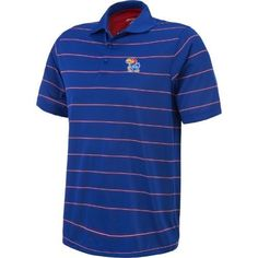 Antigua Men's University of Kansas Deluxe Polo Shirt