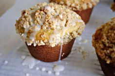 Jumbo Lemon Coffee Cake Muffins. I love lemon anything. And these will melt in your mouth. Yummy.