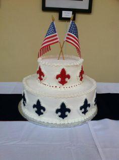 Boy Scout Eagle Cake