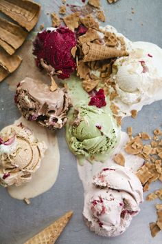 Cool ice cream shoot | Intro to Food Photography and Styling with Leela Cyd and Aran Goyoaga in Seattle | May 3, 2014  photo by Leela Cyd