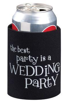 Wedding Party Cup Cozy