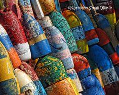 colorful buoysMaine buoysnautical themeJuly by EyeLuvPhotography, $20.00