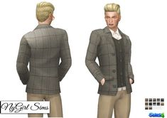 NY Girl Sims: Layered Suit Jacket • Sims 4 Downloads