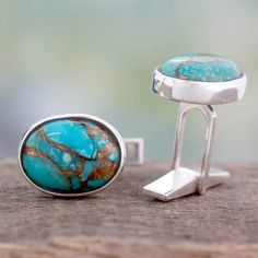 Home Decor, Jewelry & Gifts by Talented Artisans Worldwide Sterling Silver Cufflinks, Sterling Silver Jewelry, Gemstone Jewelry, Silver Earrings, Silver Ring, Business Formal Women, Silver Jewellery Indian, Jewelry Photography, Jewelry Gifts