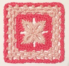 Free Crochet Patterns: Free Crochet Patterns: More Granny Square Motifs