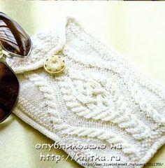 SANDRA CROCHE: Porta Oculos de trico