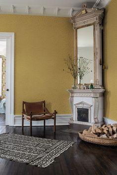 Interior Wallpaper, White Rooms, Wallpaper Roll, My Dream Home, Color Inspiration, Light In The Dark, Home Goods, House Design, Living Room