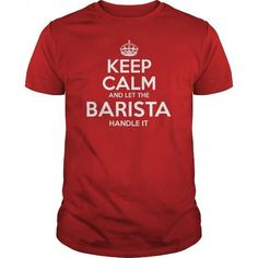 Awesome Tee For Barista - #mens shirt #sweatshirts. ORDER NOW => https://www.sunfrog.com/LifeStyle/Awesome-Tee-For-Barista-100513792-Red-Guys.html?68278