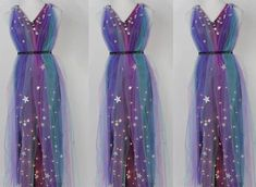 Get your ethereal glam on with this DIY, light-up galaxy dress . Get your ethereal glam on w Costumes Alien, Space Costumes, Girl Costumes, Cosplay Costumes, Space Girl Costume, Halloween Costumes, Diy Dress, Fancy Dress, Dress Up