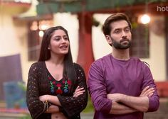 They look sooo cute together Cute Love Couple, Beautiful Couple, Bollywood Actors, Bollywood Celebrities, Tv Actors, Actors & Actresses, Nakul Mehta, Dil Bole Oberoi, Surbhi Chandna
