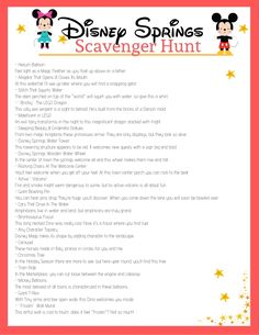 Add even more fun into your time at Disney Springs with this FREE printable Disney Springs Scavenger Hunt! It's fun for parties & enterains the kids. Disney Games For Kids, Disney Party Games, Disney Activities, Online Games For Kids, Work Activities, Disney List, Disney Now, Disney Trips, Scavenger Hunt For Kids