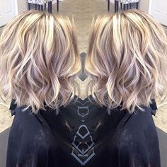 Wavy Blonde Hair Color Ideas 2017