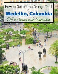 """There's a well worn tourist trail in Medellin Colombia, but there are still some places where you can get off the beaten path and see the """"real"""" Medellin. Visit Colombia, Colombia Travel, Mexico Travel, Asia Travel, Colombian Cities, Colombian Culture, Travel Inspiration, Travel Ideas, Travel Tips"""