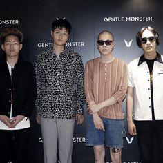 GENTLE MONSTER Opening ceremony with Korea band & singer Hyukoh (혁오, 혁오밴드)
