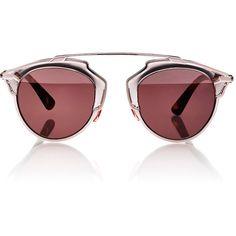 "Dior Women's ""Dior So Real"" Sunglasses (41.305 RUB) ❤ liked on Polyvore featuring accessories, eyewear, sunglasses, glasses, lunettes, multi, mirrored sunglasses, logo lens sunglasses, christian dior glasses and mirror sunglasses"
