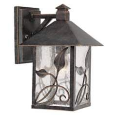 """French Garden Collection 10 1/2"""" High Outdoor Wall Light"""